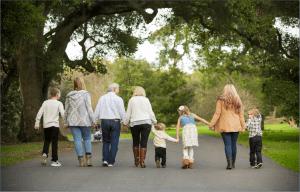 Bob & Ann with their Grandchildren