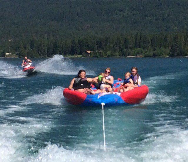 Family Fun on the Lake