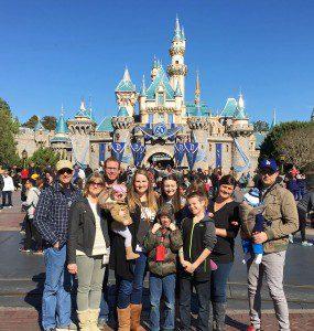 Family Fun at Disneyland