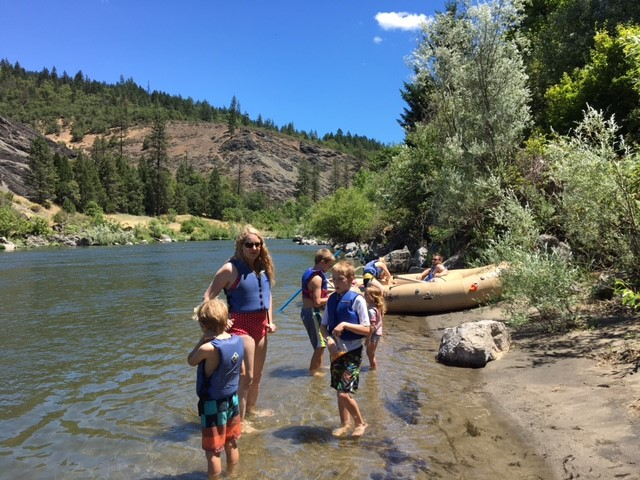 A Fun Day in Oregon on the Rogue River