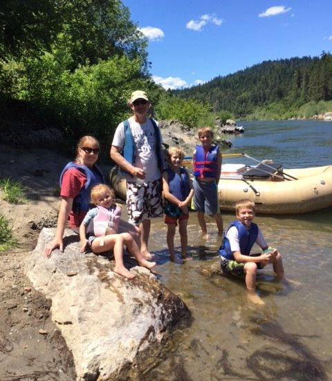 Family Time on the Rogue River