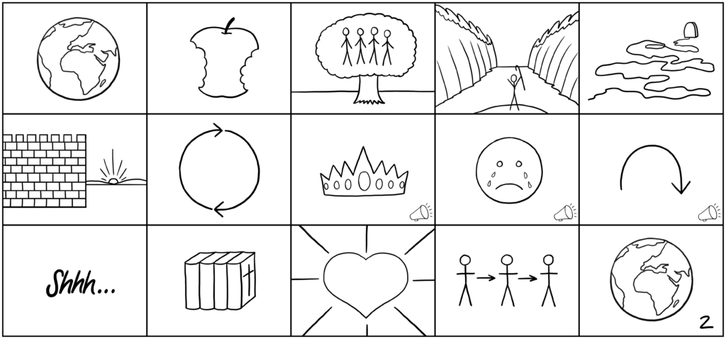 Simple Bible StoryBoards