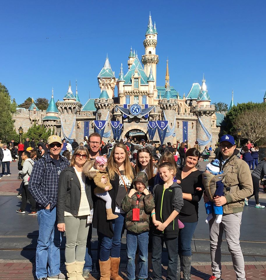 Family Fun at Disneyland